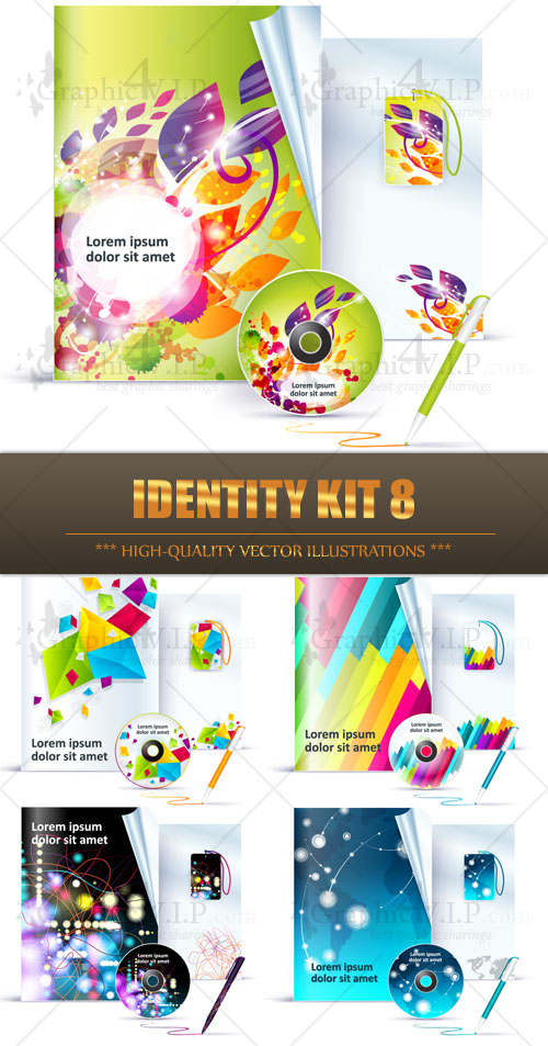 Identity Kit 8 - Stock Vectors