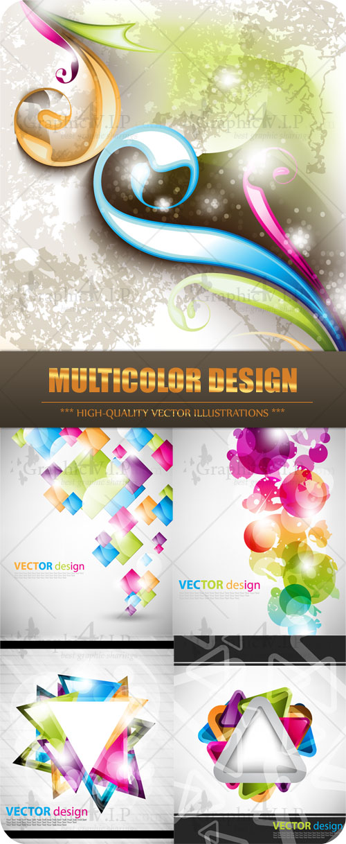 Multicolor Design - Stock Vectors