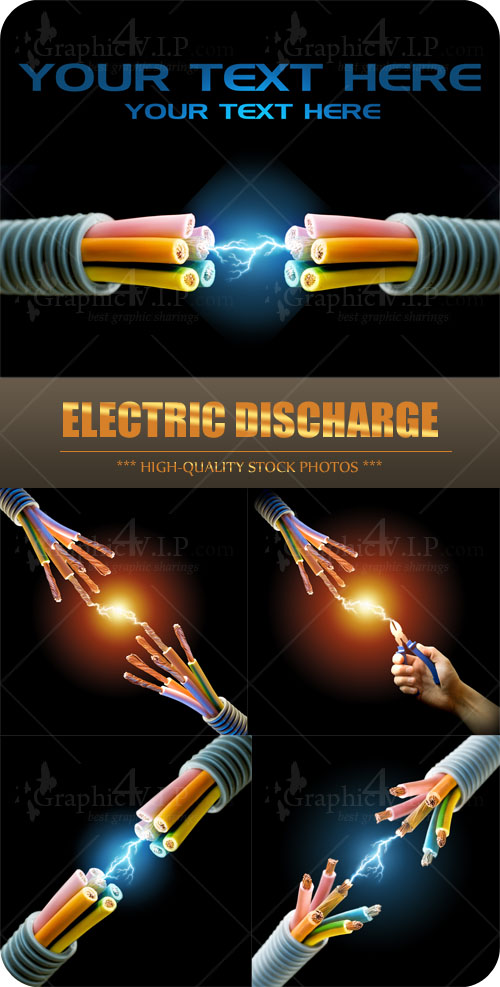 Electric Discharge - Stock Photos