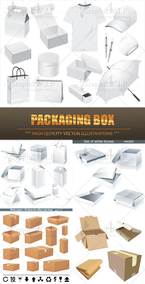 Packaging Box - Stock Vectors