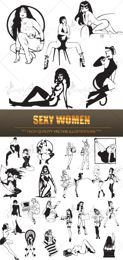 Sexy Women - Stock Vectors