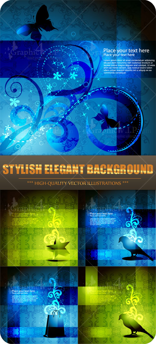 Stylish Elegant Background - Stock Vectors