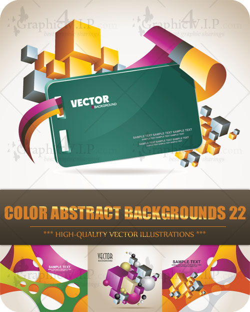 Color Abstract Backgrounds 22 - Stock Vectors