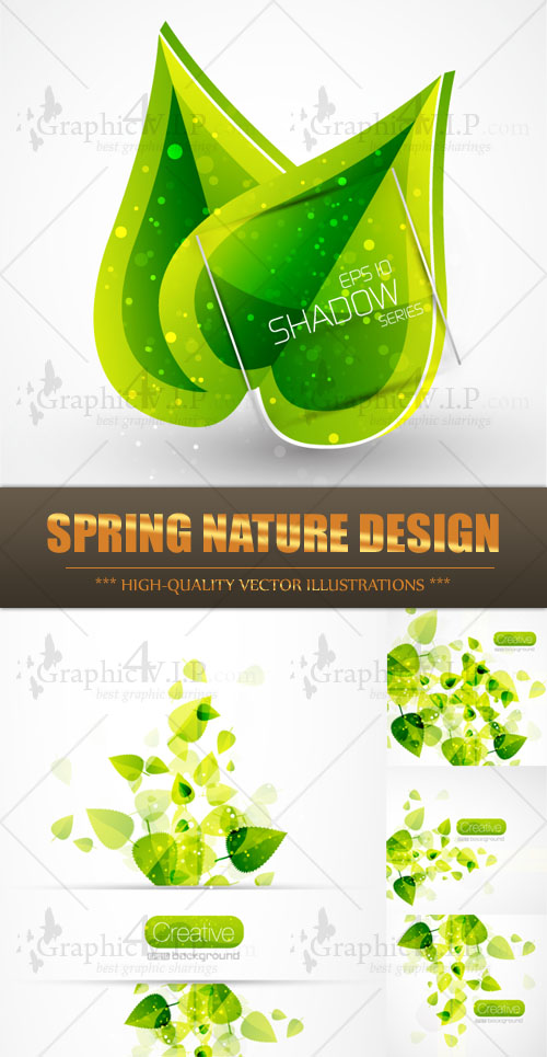 Spring Nature Design - Stock Vectors