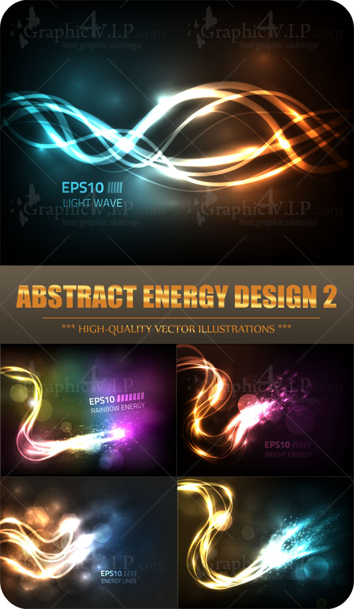 Abstract Energy Design 2 - Stock Vectors