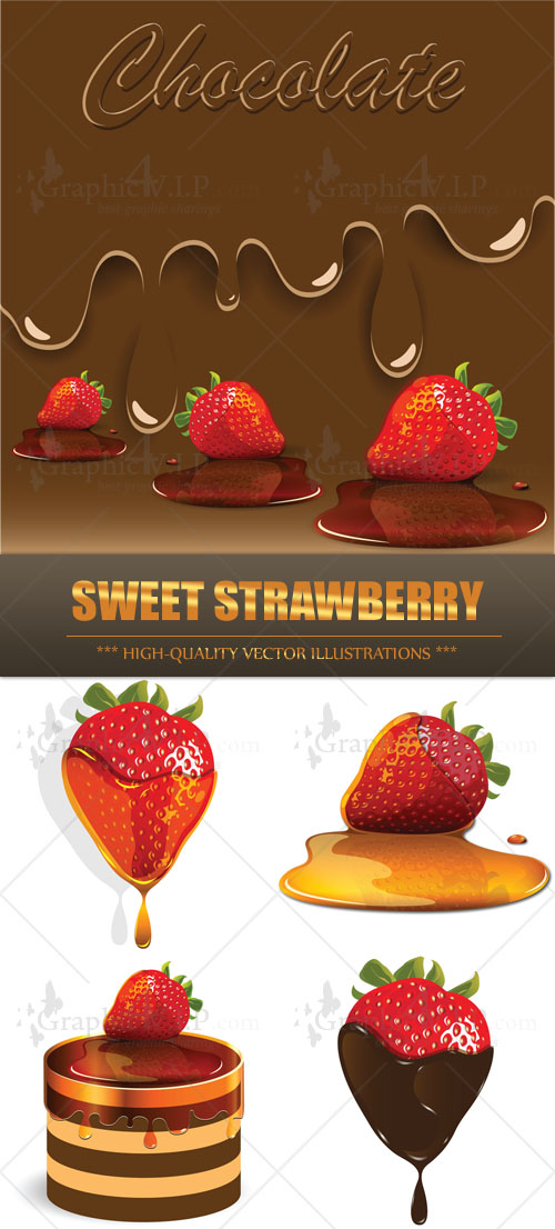 Sweet Strawberry - Stock Vectors