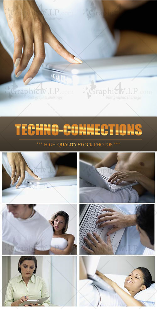 Techno-connections - Stock Photos