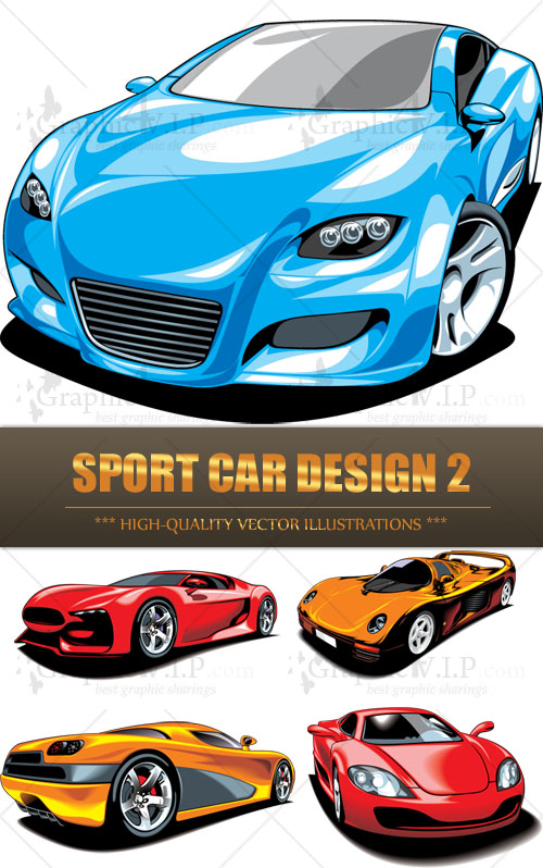 Sport Car Design 2 - Stock Vectors