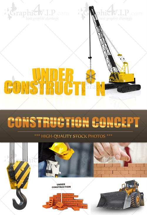 Construction Concept - Stock Photos