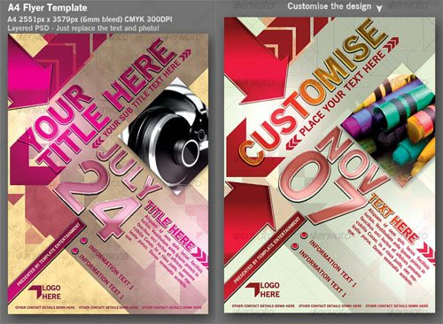 Flyer Template - PSD Template