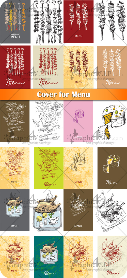 Cover for Menu - Stock Vectors
