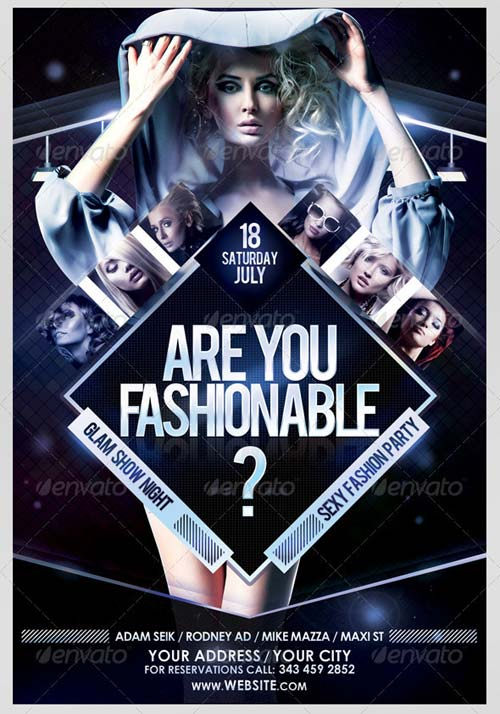 GraphicRiver Are You Fashionable? Flyer Template
