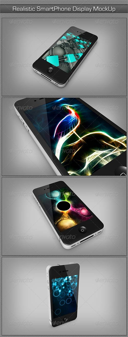 GraphicRiver Realistic SmartPhone Display MockUp