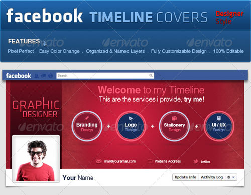 GraphicRiver Facebook Covers Pro Style