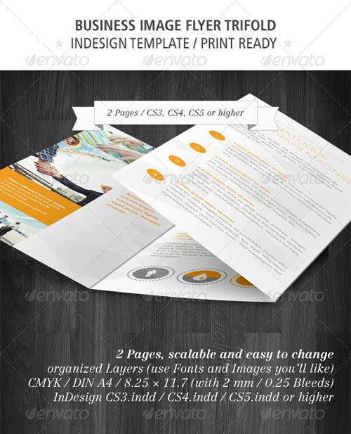 GraphicRiver Business Image Flyer Trifold