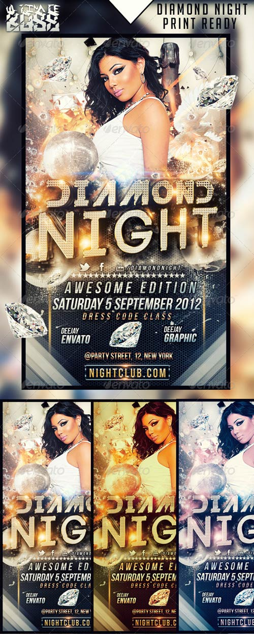 GraphicRiver DIAMOND NIGHT