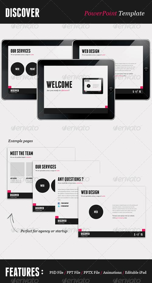 GraphicRiver Agency Style PowerPoint Template