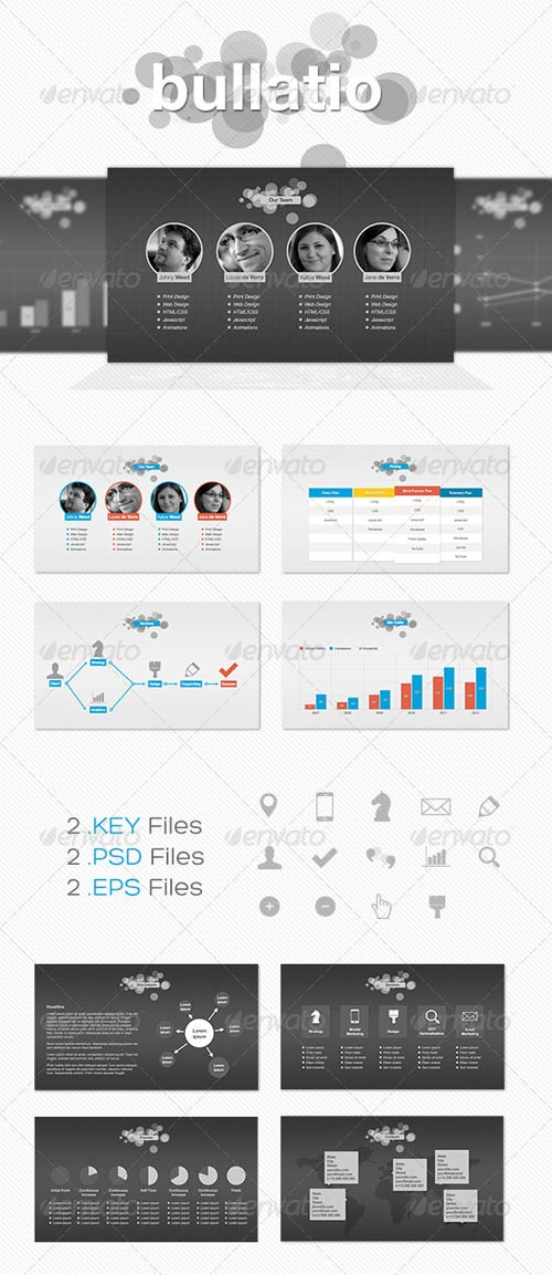 GraphicRiver Bullatio - Keynote Presentation Template