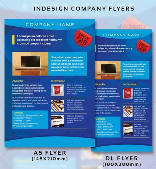 GraphicRiver Company Flyers