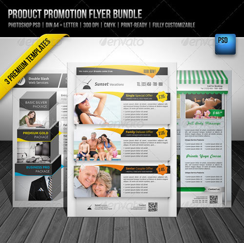 GraphicRiver Product Promotion Flyer Bundle
