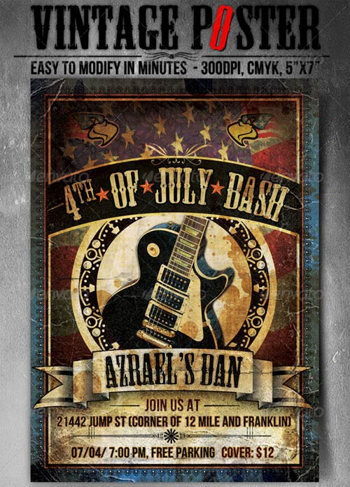 GraphicRiver Vintage Poster - For Any Event