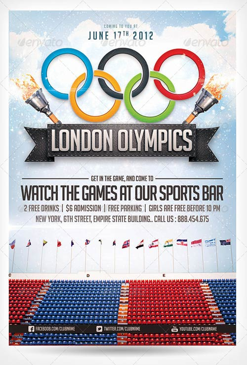 GraphicRiver 2012 Olympics sports flyer