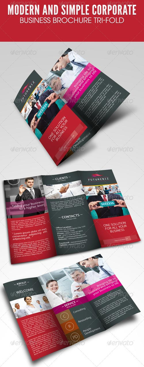 GraphicRiver Modern and Simple Corporate Business Brochure