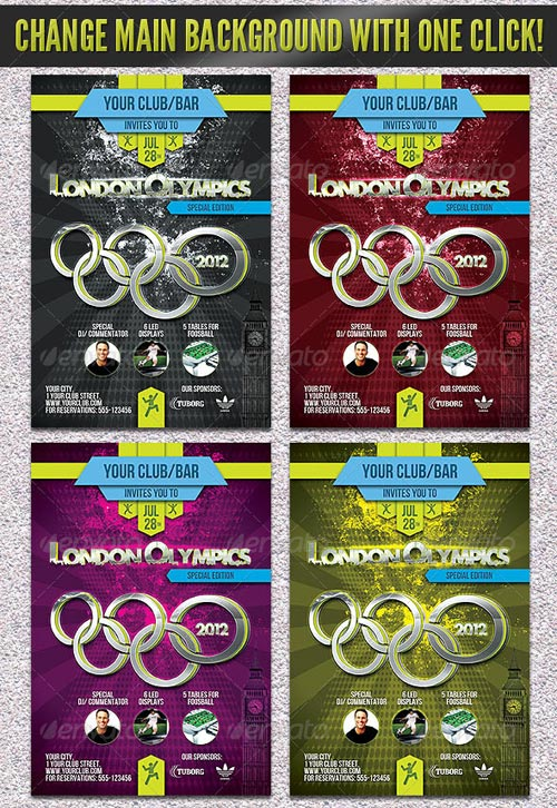 GraphicRiver London Olympics Flyer