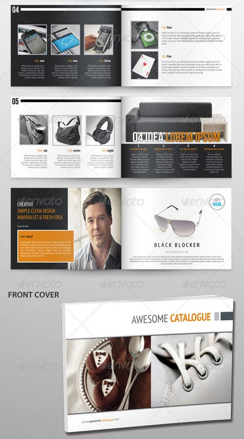GraphicRiver Awesome Design Catalogue/Brochures