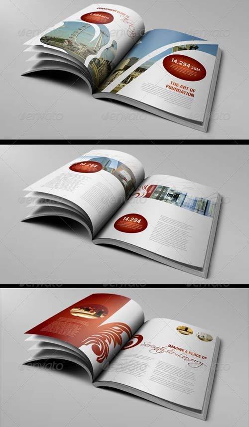 luxury brochure template - graphicriver luxury brochure template 12 pages