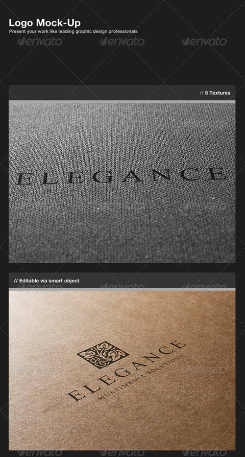 GraphicRiver Logo Mock-Up