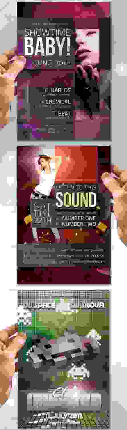GraphicRiver Music Flyer Bundle No.4