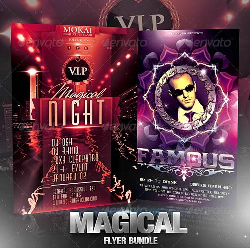 GraphicRiver Magical Flyer Bundle