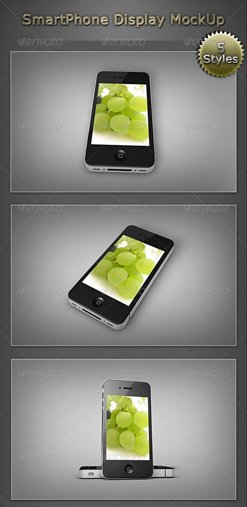 GraphicRiver SmartPhone Display MockUP