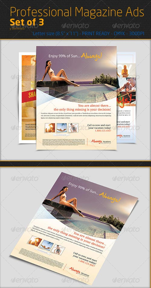 GraphicRiver Professional Magazine Ads