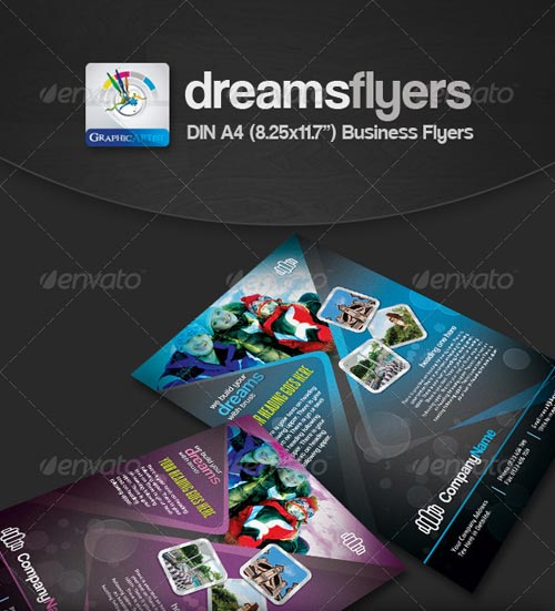 GraphicRiver Dreams Multipurpose Business Flyers
