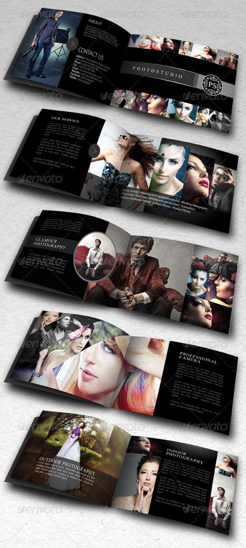 GraphicRiver Modern Portfolio Brochure or Catalog