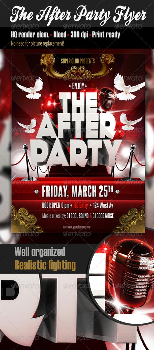 GraphicRiver The After Party Flyer