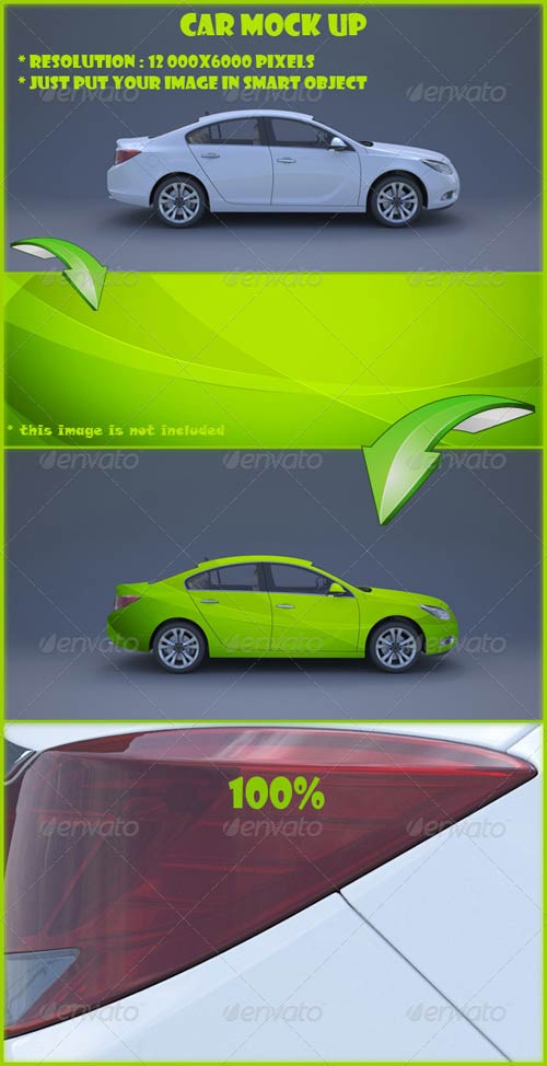 GraphicRiver Car Mock Up
