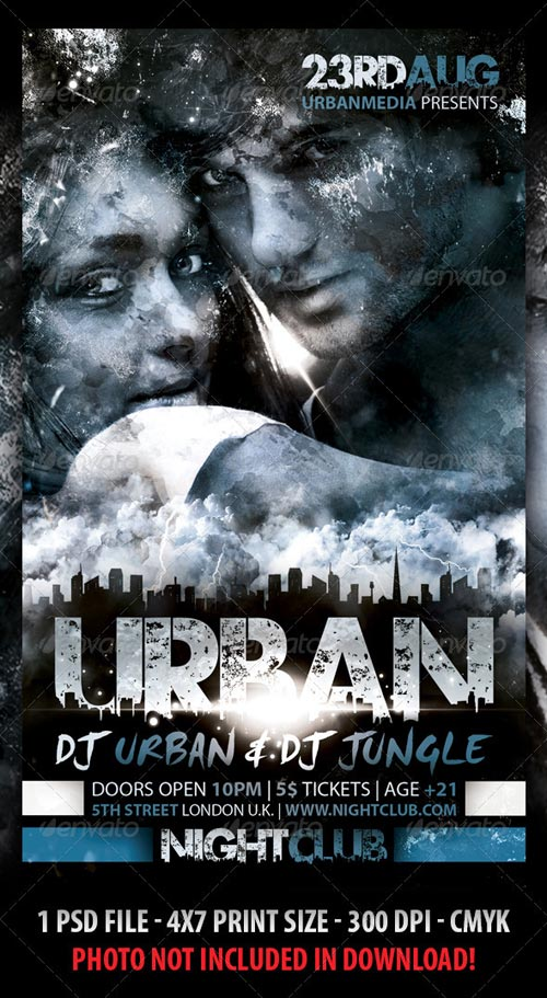 GraphicRiver Urban Party Flyer 2731509