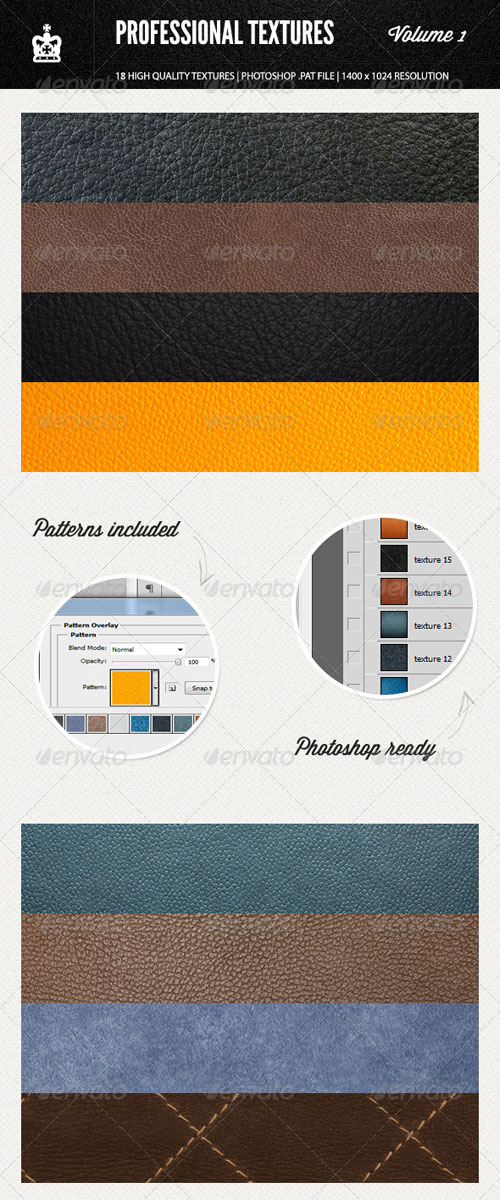 GraphicRiver Professional Textures - Volume 1
