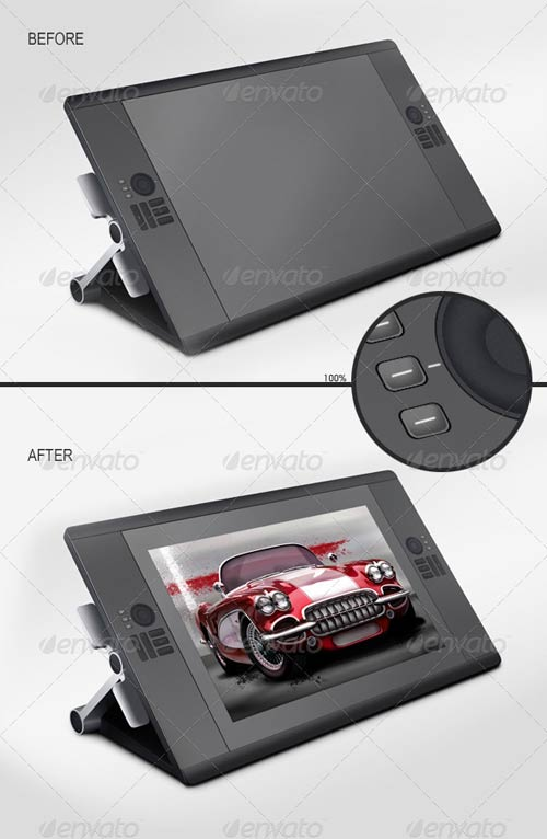 GraphicRiver Digital Tablet Mockup