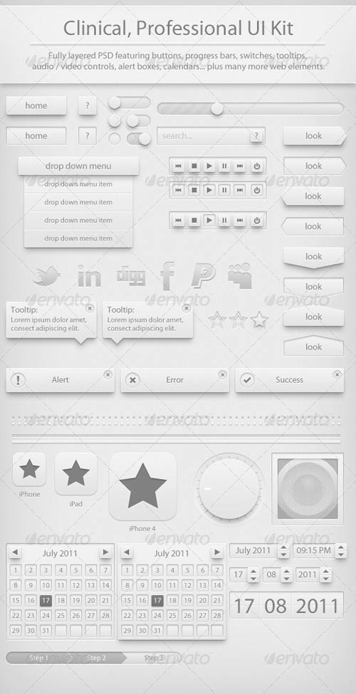 GraphicRiver Clinic UI Kit