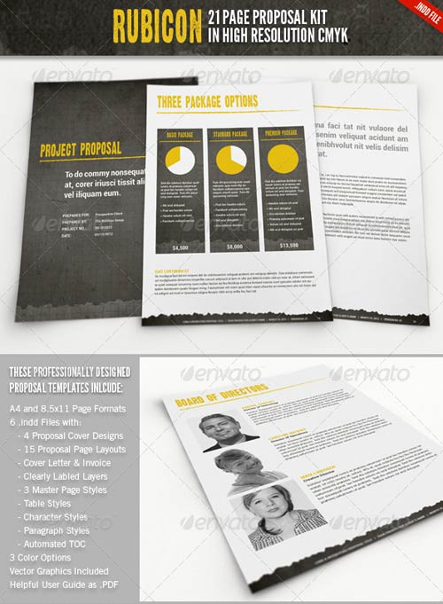 GraphicRiver Rubicon Proposal Template Kit