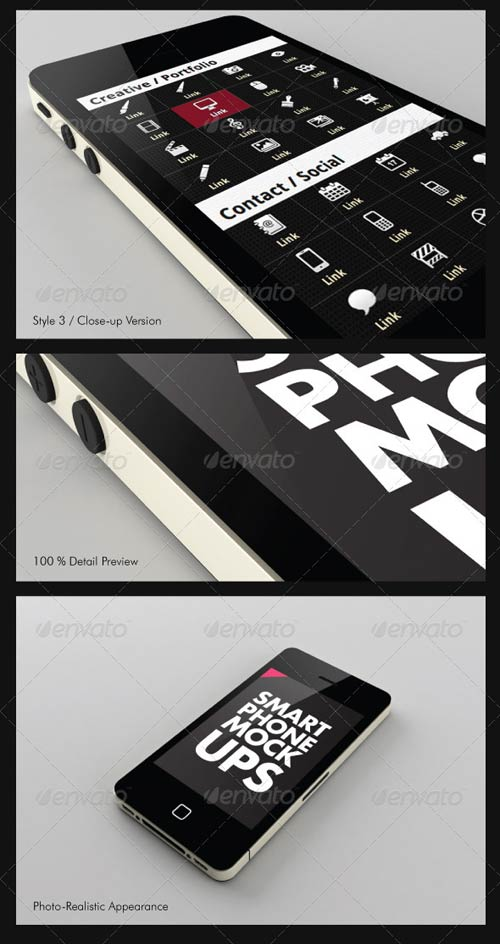 GraphicRiver Smart Phone / Mobile Mock-ups
