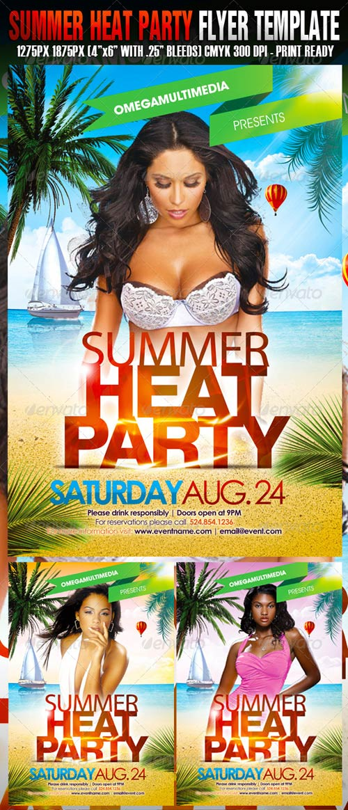 GraphicRiver Summer Heat Party