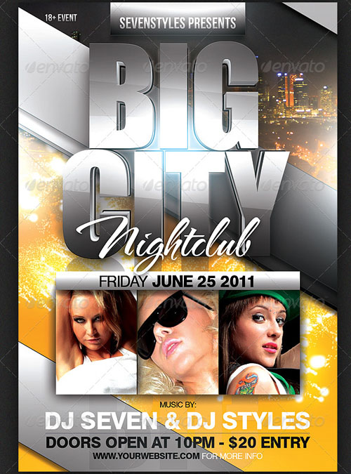 GraphicRiver Big City Flyer