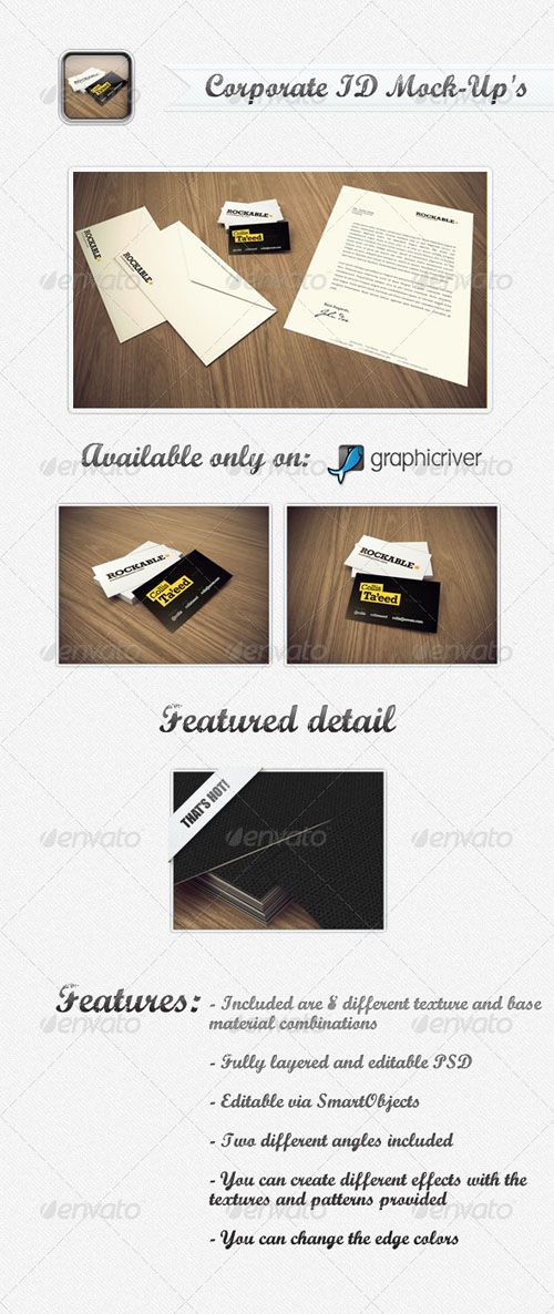 GraphicRiver Corporate ID Mock-Up's