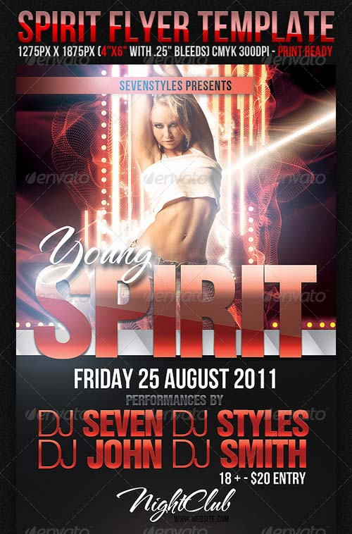 GraphicRiver Spirit Flyer Template