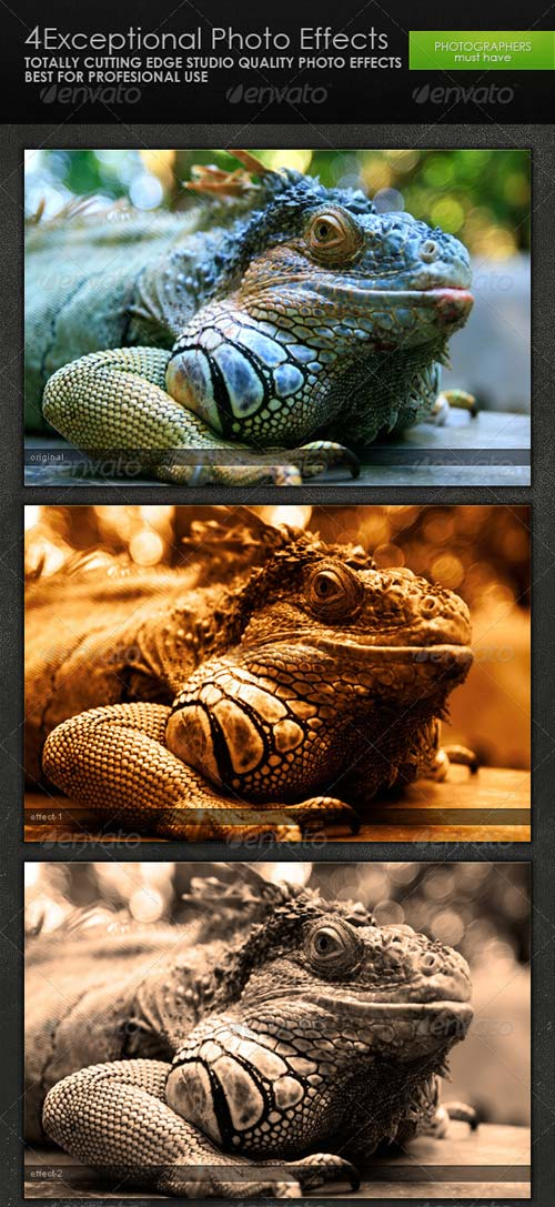 GraphicRiver Exceptional Photo Effects